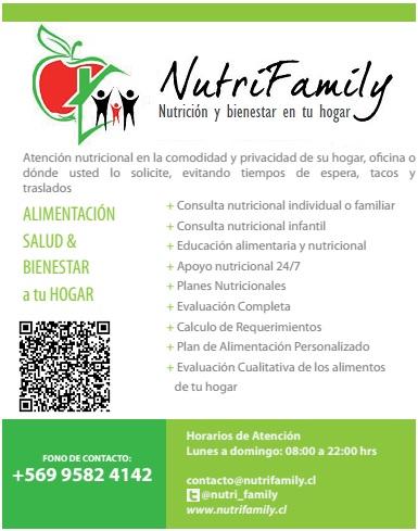 Nutricionista a domicilio en santiago