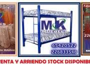 SILLAS MESAS CAMAS - CAMAROTES stock disponible 500und fabrica