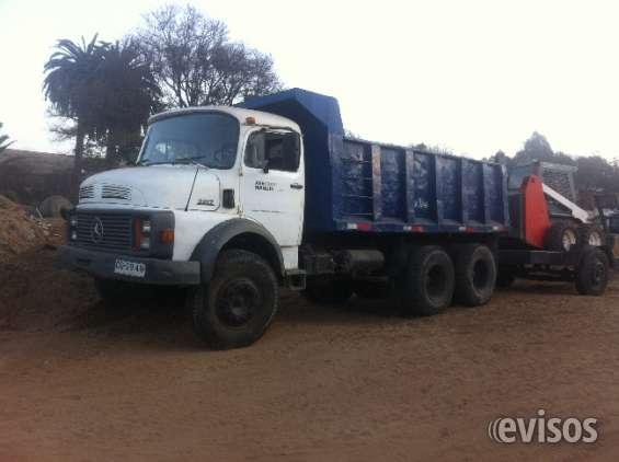 Vendo camión mercedes de 12 m3