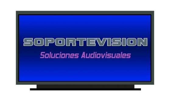 Instalacion soportes pantallas tv en muros. cel, 973302977