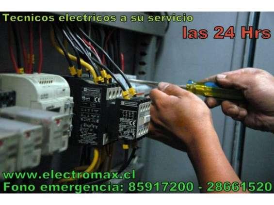 Maestro tecnico electrico a domicilio 24 horas, autorizado sec.