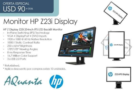 Vendo monitores de 23 pulgadas hp z23i y workstation hp z420