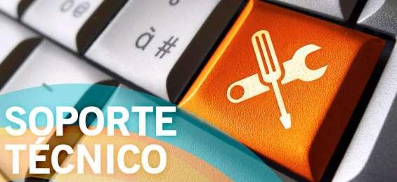 Soporte técnico a pc notebook impresoras sistemas operativos