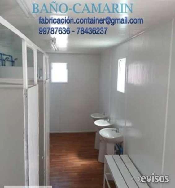 Baño container servicios higienicos