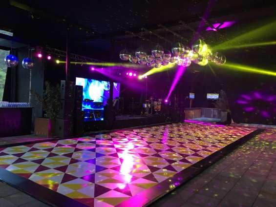 Iluminación y sonido para tus eventos