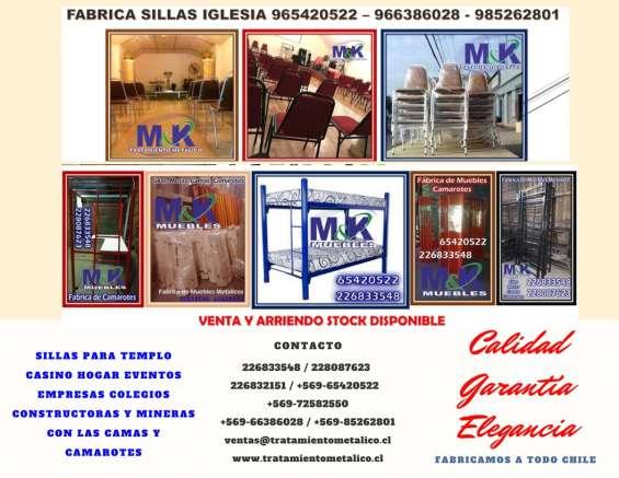 Sillas fabrica muebles