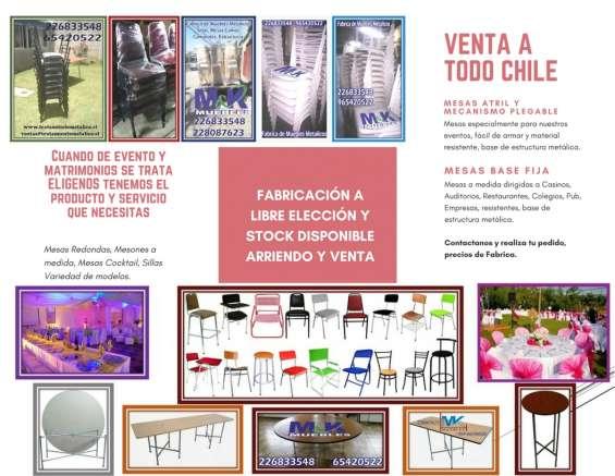 Fabrica mobiliario hogar eventos casino
