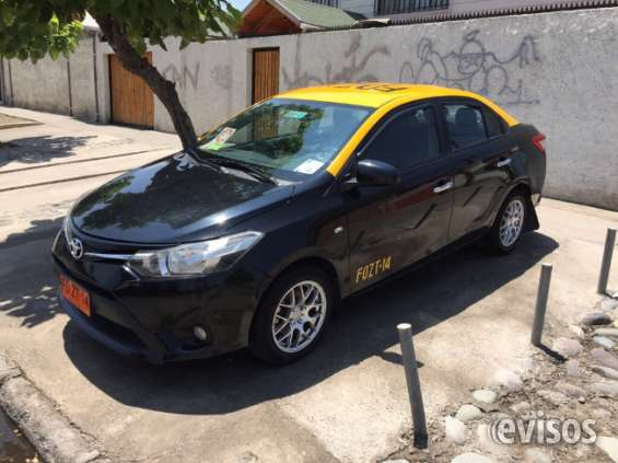 Vendo taxi toyota yaris 2016 impecable
