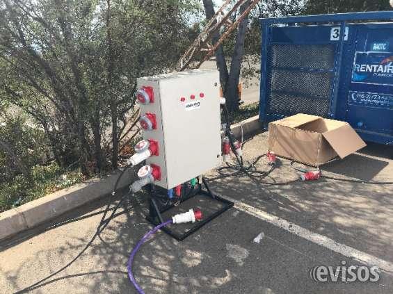 Arriendo generadores