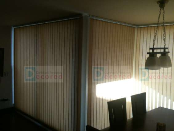 Fotos de Cortinas verticales decored