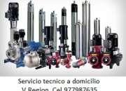 Bombas reggio , servicio tecnico v region cel 977987635