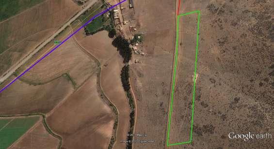 Se vende excelente parcela de 20.000 mt2 = 2 hectareas a $ 3000 mt2.