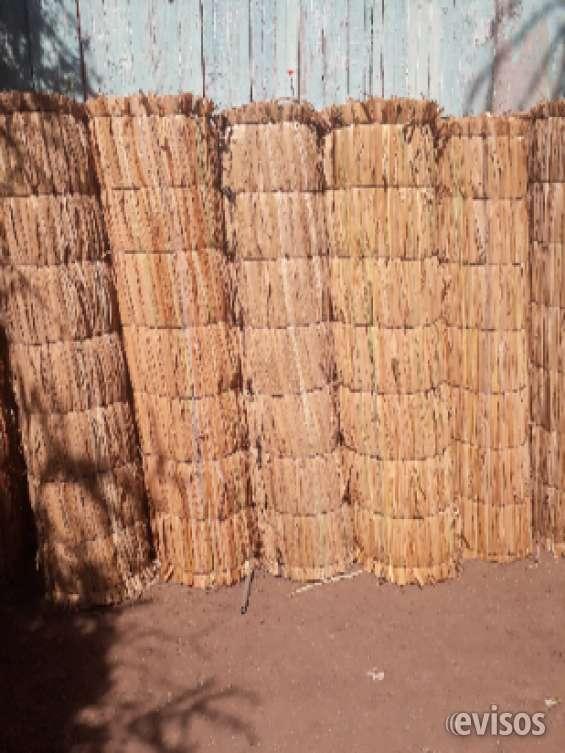 Esteras rusticas de totora 1.80x 5