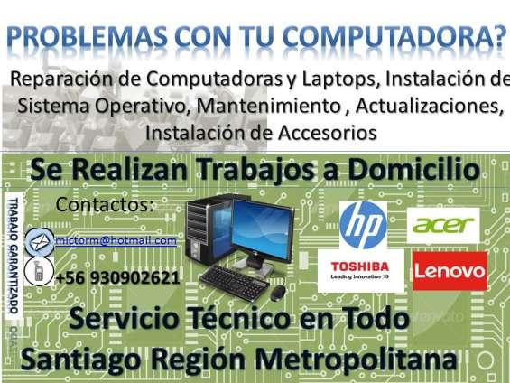 Computadoras y notebooks
