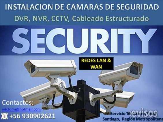 Instalacion de camaras de seguridad y redes