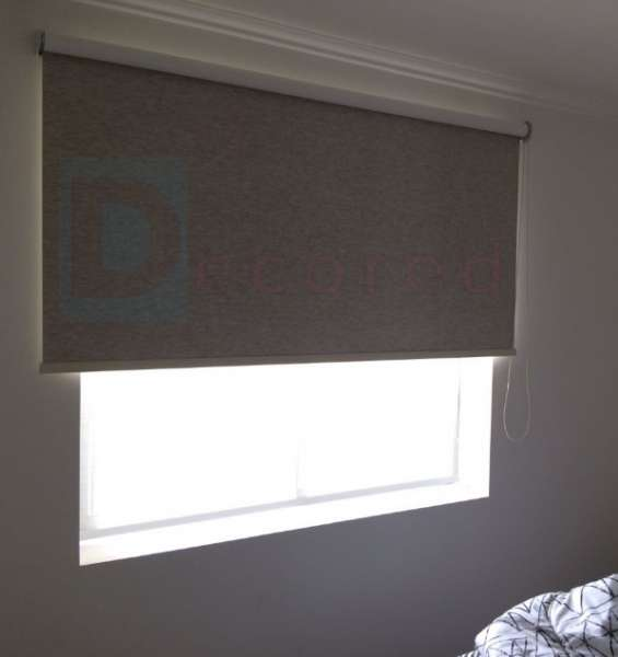 Cortinas roller tela black-out termica decored