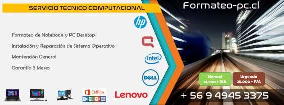 Tecnico en notebook netbook y compuradores en general