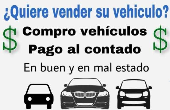 Compro vehiculos en buen y mal estado