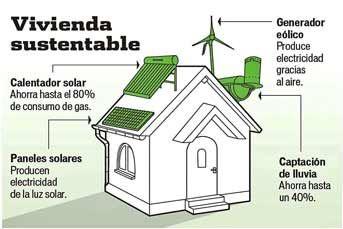Ofrecemos y contruimos casas autosustentables