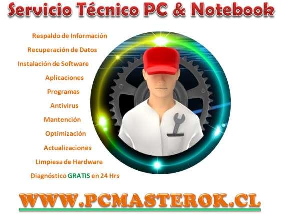 Servicio técnico de pc & notebook