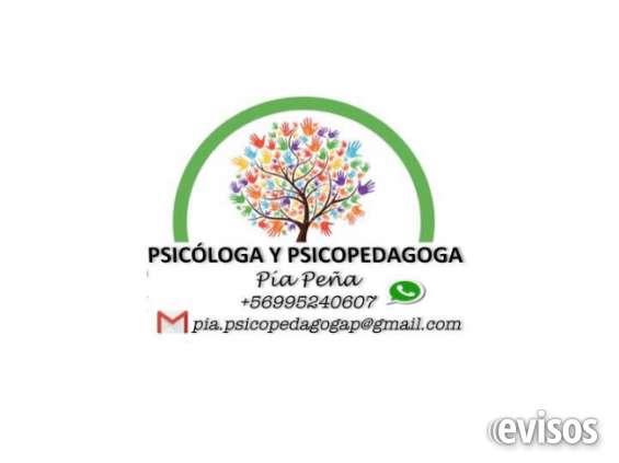 Psicóloga y psicopedagoga a domicilio