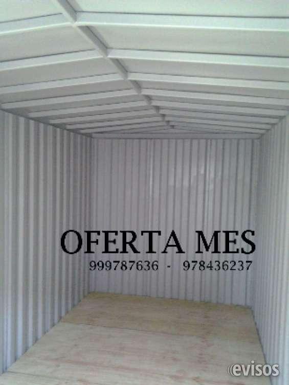 Bodegas container modulares reforzada