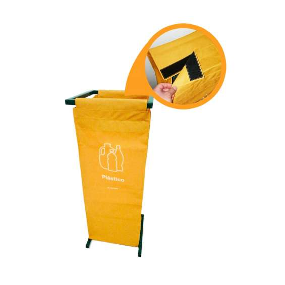 Contenedor de reciclaje personal r-bag
