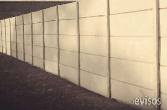 Fabricación y venta de materiales de hormigón y muros perimetrales