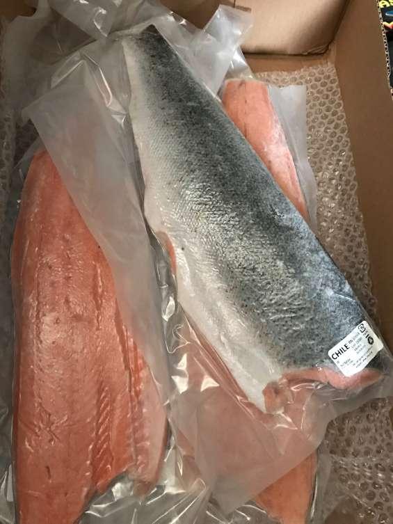 Filete de salmon con