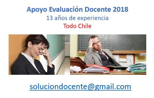Evaluación docente 2018 completa