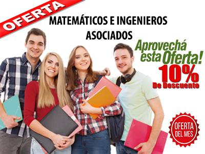Desarrollo de tus trabajos académicos en las áreas de matemáticas y afines.