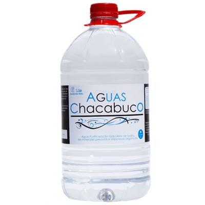 Bidon 6 litros de agua embotellada