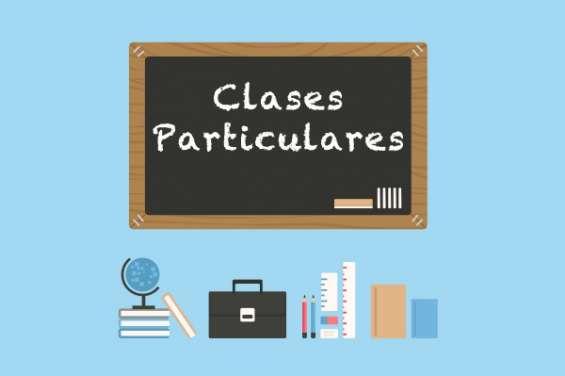 Clases particulares y traducciones