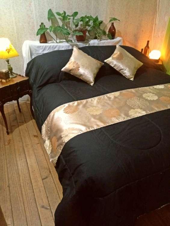 Pieceras para camas de plaza y media y 2