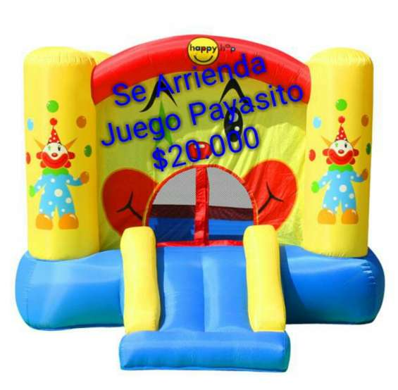 Arriendo inflable payasito