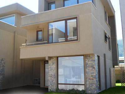 Linda casa estilo mediterráneo, 3 dormitorios, chiguayante, concepcion