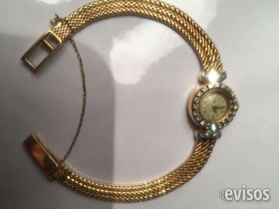 Reloj omega oro y brillantes de dana