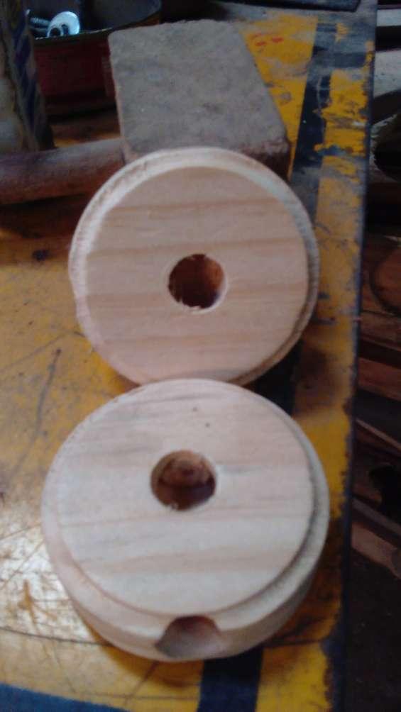Venta rosetas de madera