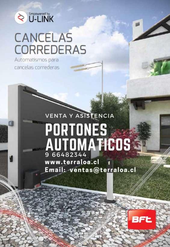 Servicio de asistencia técnica integral a portones automáticos.  mercedes, los placeres, valparaiso.  9 66482344   552330584   ventas@terraloa.cl