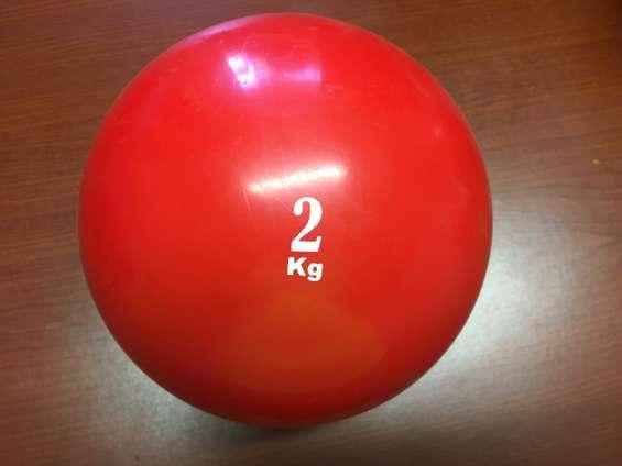 Balones medicinales lisos.