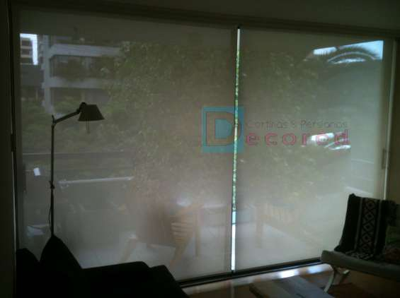 Cortinas roller tela screen decored