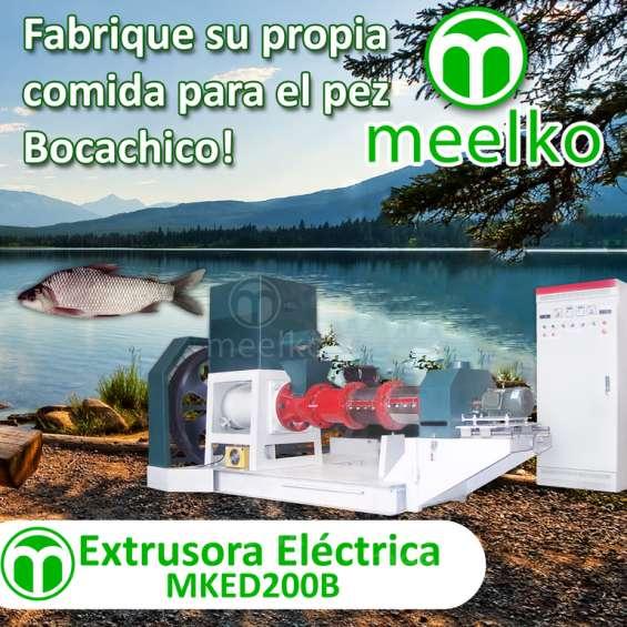 Extrusora para alimento de peces mked200b