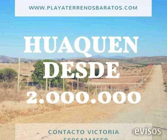 Terrenos desde 2.000.000 playa