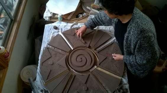 Clases de escultura y cerámica gres