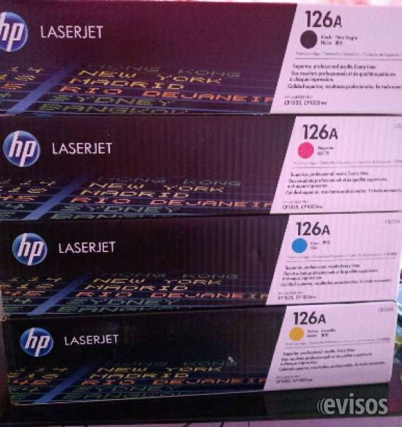 Vendo toner originales hp