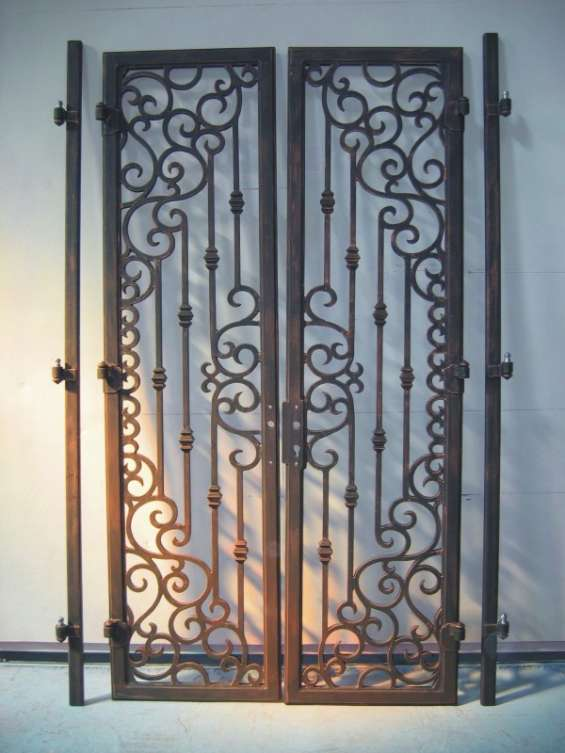 Puertas en fierro forjado
