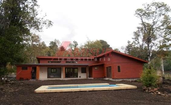 Hermosa casa, en excelente sector a minutos del volcán villarrica.