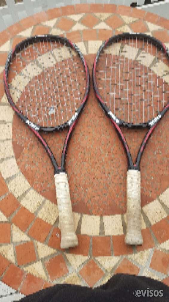 Vendo raquetas semi nuevas