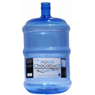 Recarga bidon 20 litros de agua purificada