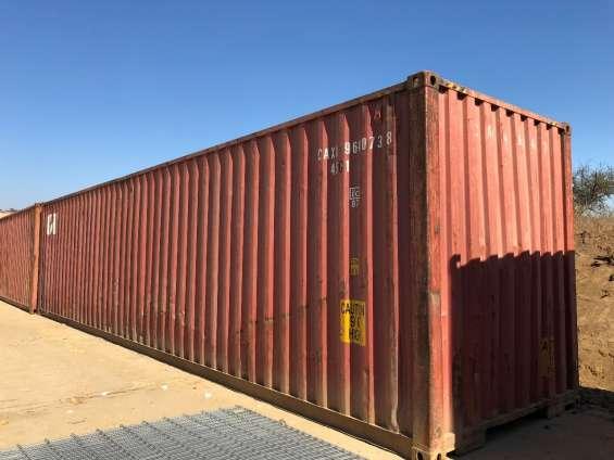 Arriendo de container en santiago